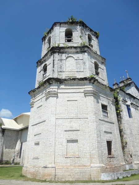 The now 4-storey bell tower