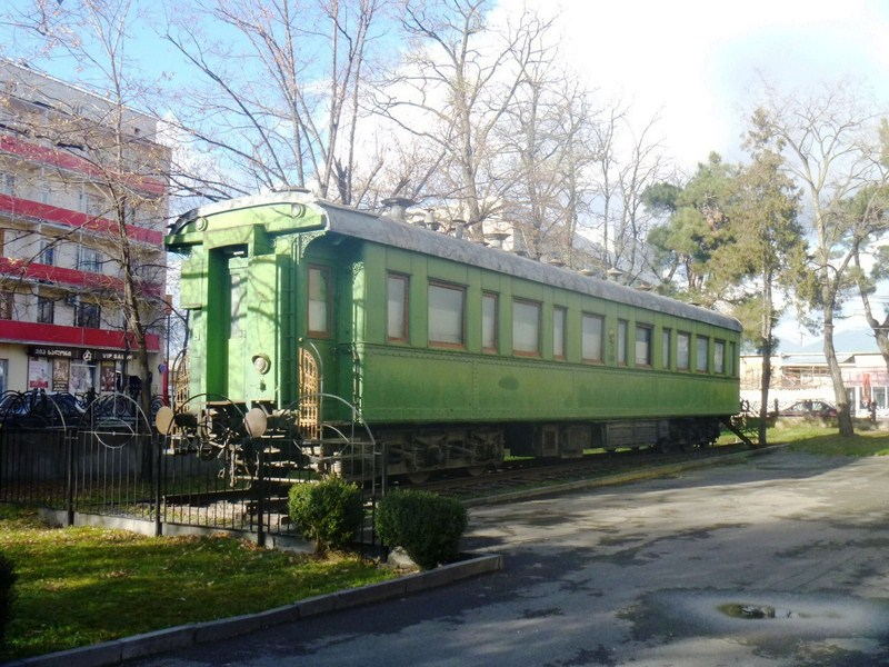 Stalin's private railway carriage