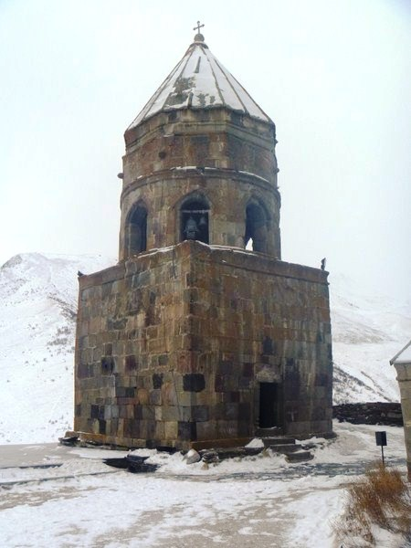 The separate bell tower
