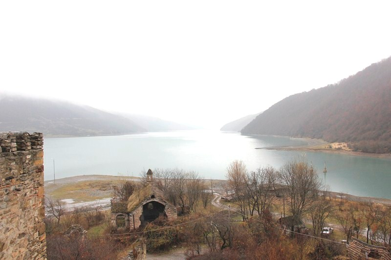 The Zhinvali water reservoir