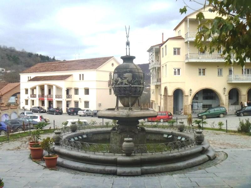 A beautiful fountain