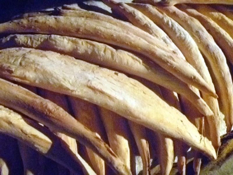 Freshly-baked shotis puri