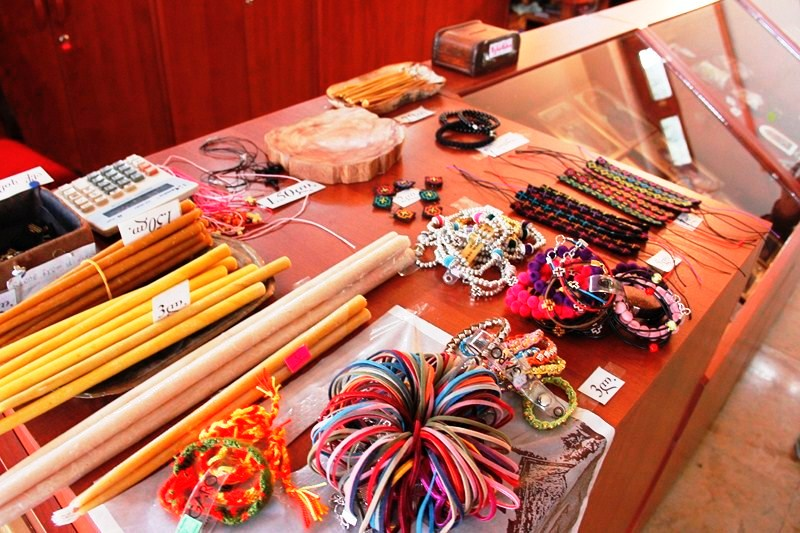 Items on sale at the Gift Shop (photo: Ms. Riva Galveztan)