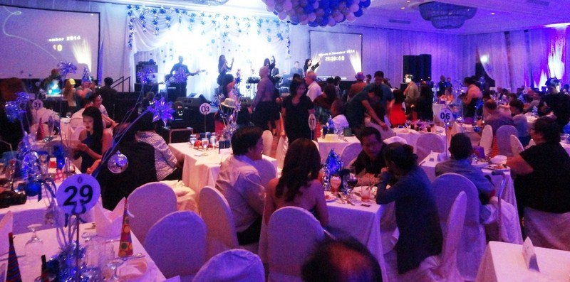 New Year Countdown at the Grand Ballroom
