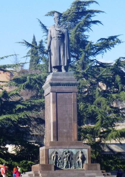Statue of Shota Rustaveli