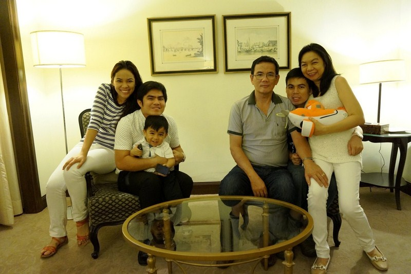 Family bonding at the InterContinental Manila