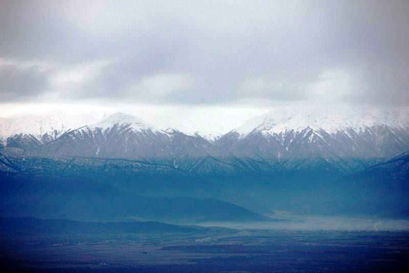 The Greater Caucasus Mountains