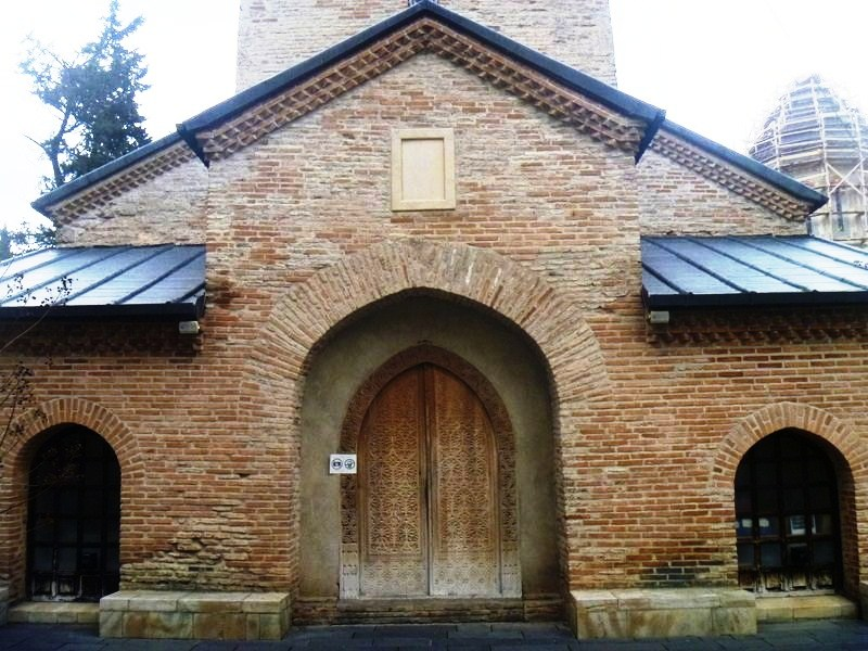 The church entrance