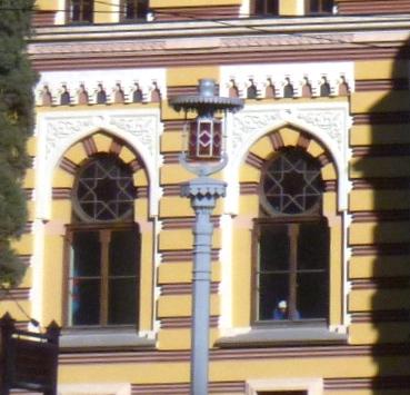 Z.Paliashvili Opera and Ballet Theater - window ornamentation