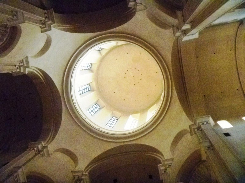 The cathedral's dome