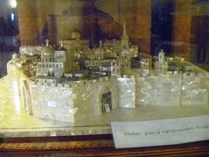 The model of the Temple Mount in Jerusalem