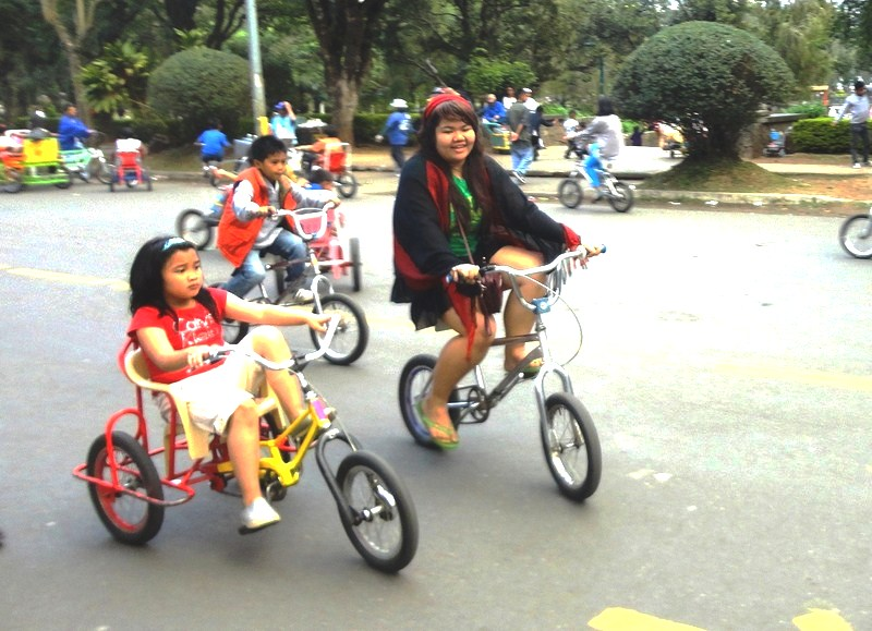 Biking for the very young, young  ...........