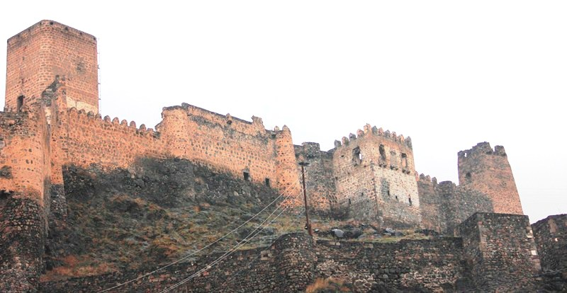 Khertvisi Fortress, one of the biggest and oldest fortresses in Georgia