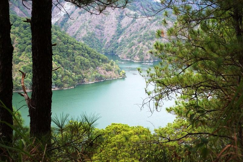 Manmade Ambuklao Lake