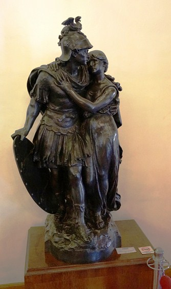 Perseus and Andromache of Auguste Moreau
