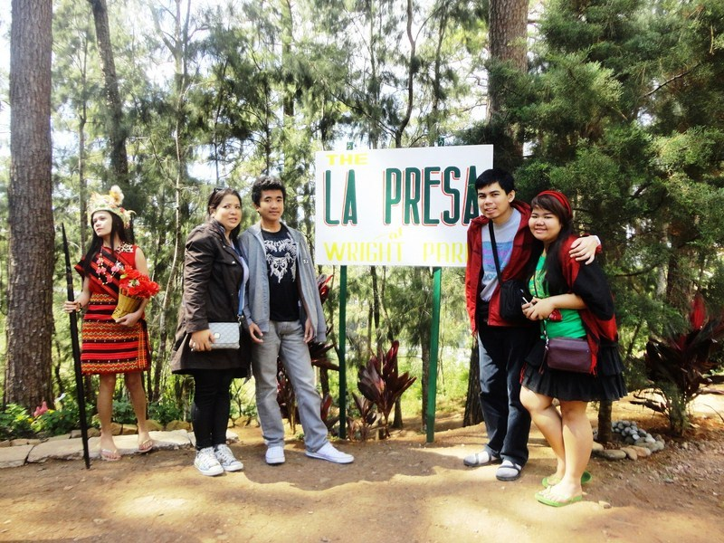 The La Presa photo booth area