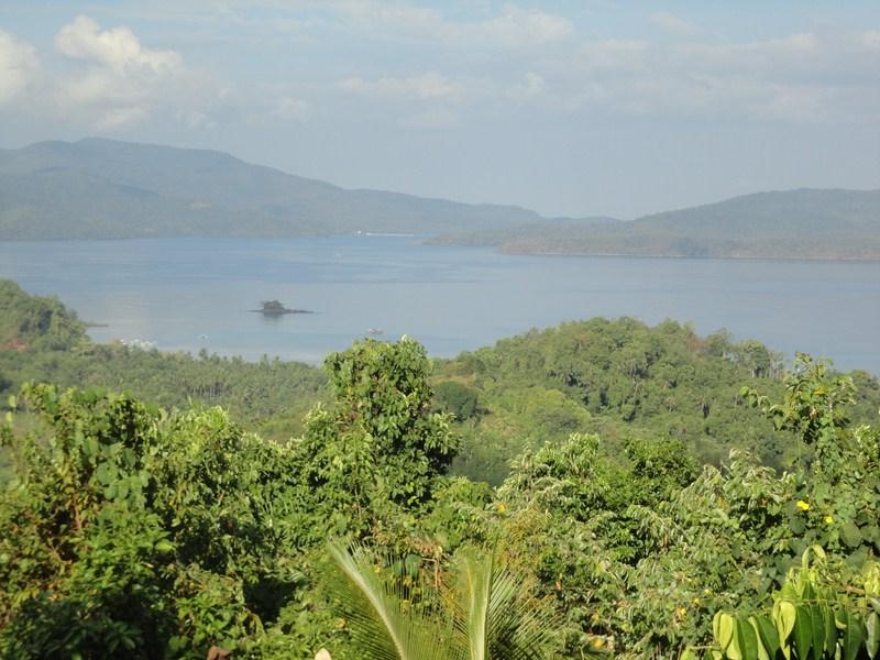 Spectacular view of Ulugan Bay