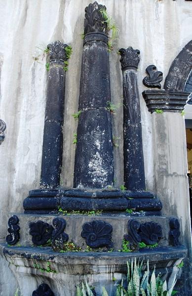 A trio of columns