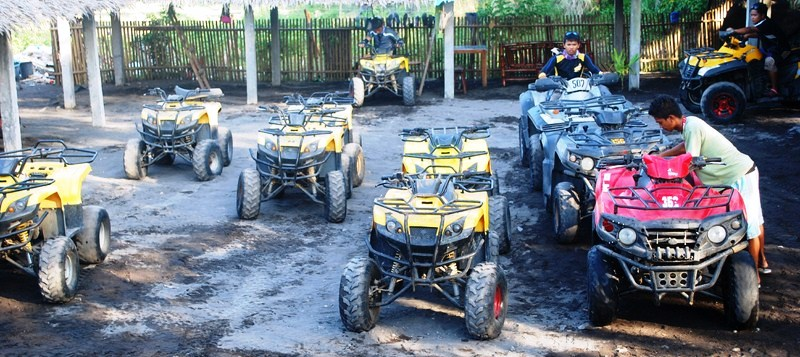 ATVs being readied