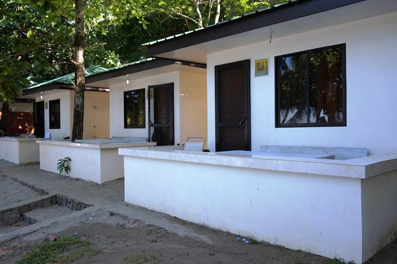 Airconditioned concrete cottages