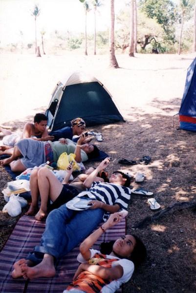 Camping at Interlink Beach