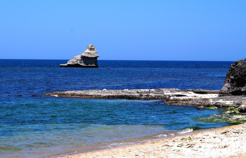 Payong-Payong Point seen from Interlink Beach