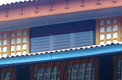 Persiana louvers (Gonzales Ancestral House)