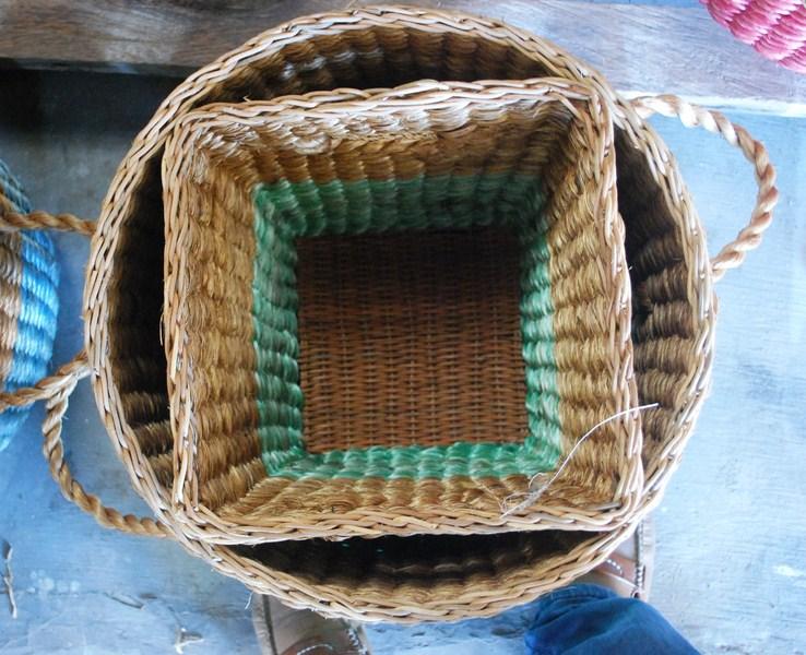 Abaca baskets