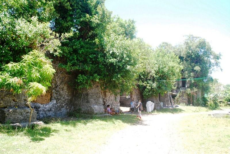 Sinimbahan Ruins