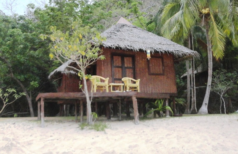 Beachfront cottage