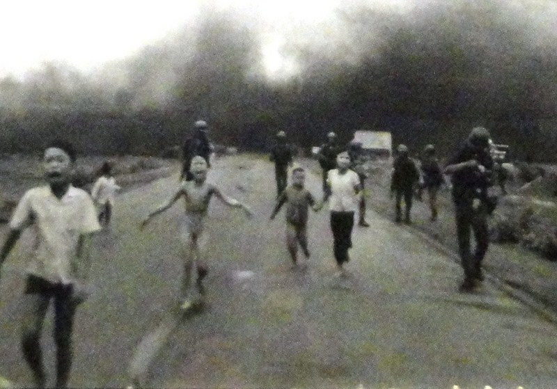 June 8, 1972 photo of napalm girl taken by Huynh Cong Ut