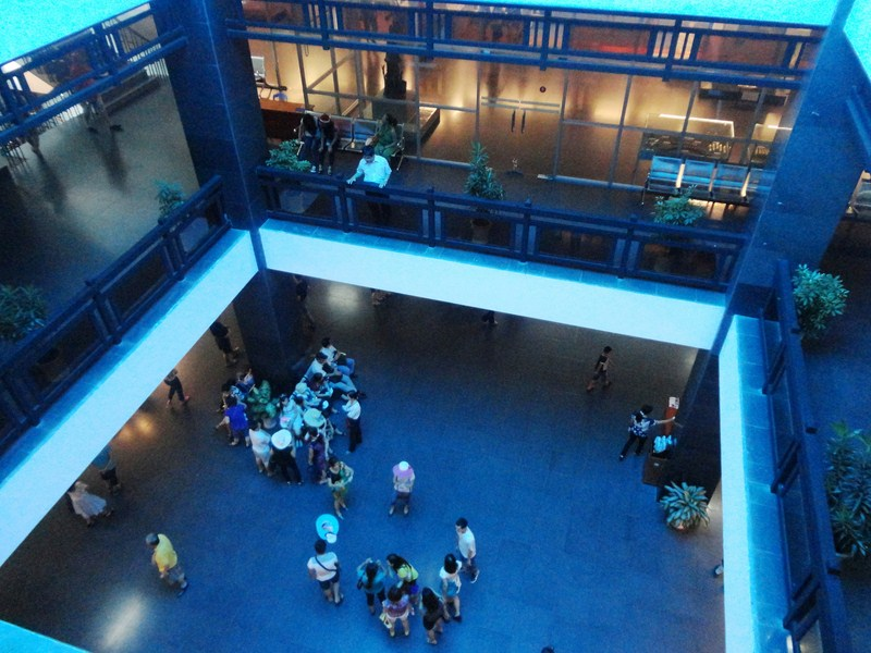 Museum atrium