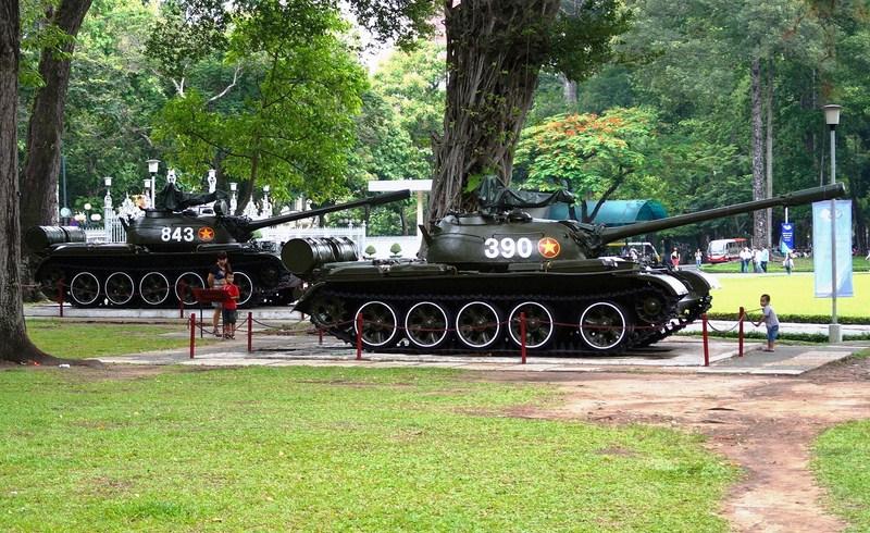 T-54 Tank (Tank 843) and T-59 Tank (Tank 390)