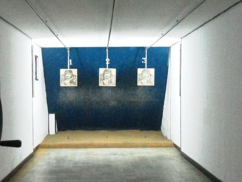 Target practice range