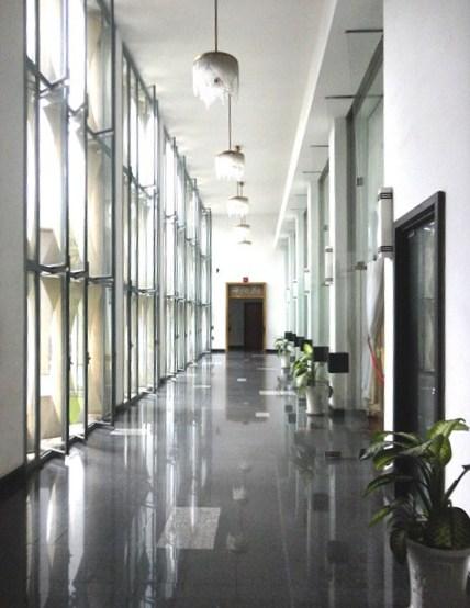 A grand corridor