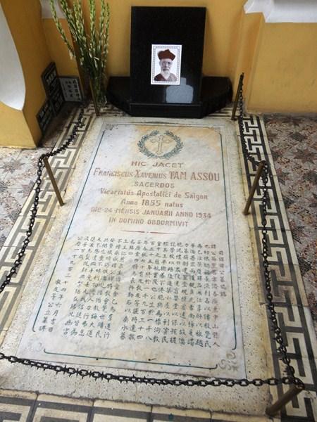 Tomb of Fr. François Xavier Tam Assou