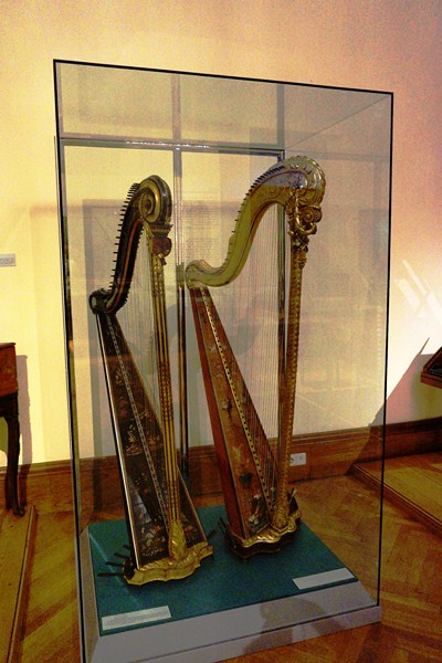 A pair of harps