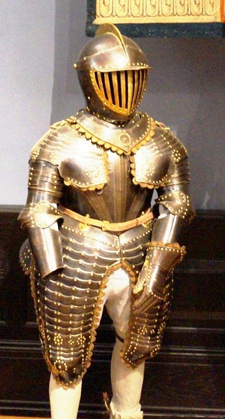 Armor for a young boy
