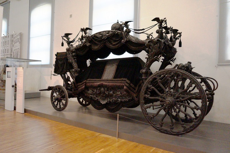 The Black Hearse o the Viennese Court
