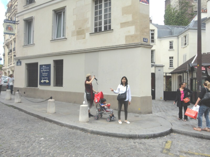 Cheska, Kyle and Grace at Place Sainte Genevieve