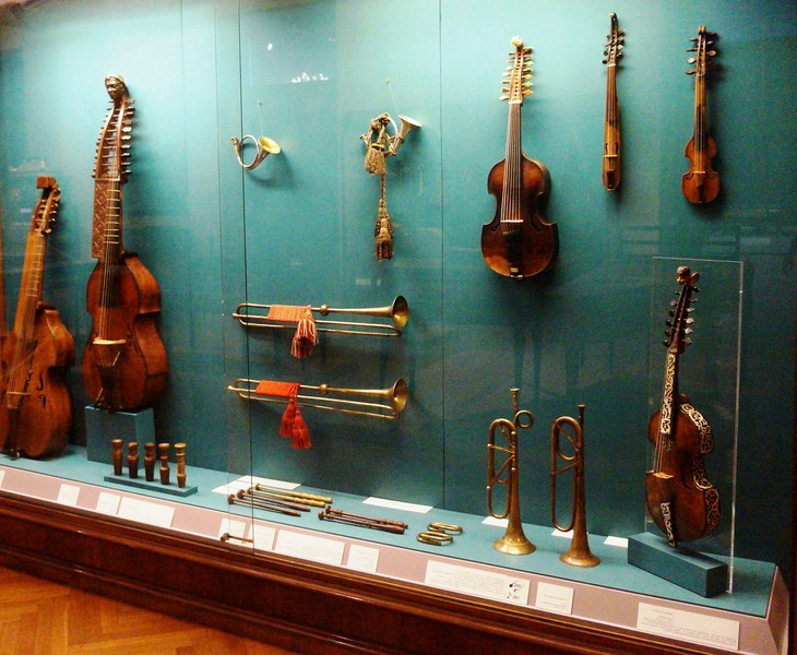 Collection of Ancient Musical Instruments (11)