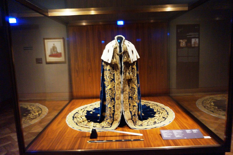 Coronation vestments of the Kingdom of Lombardy & Venetia
