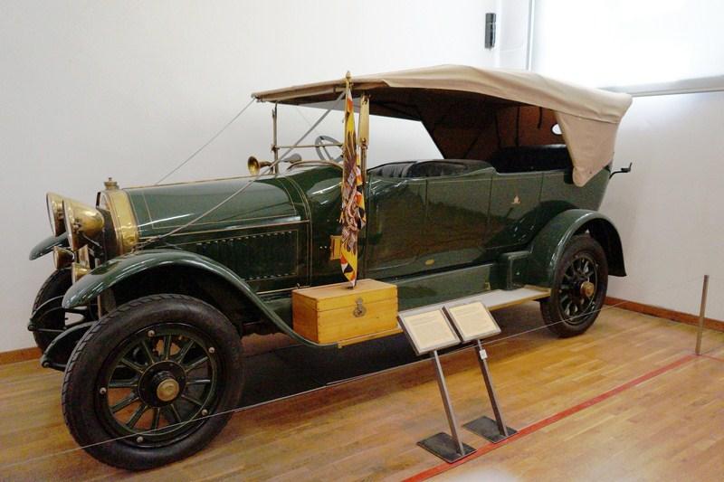 Court automobile, 1914