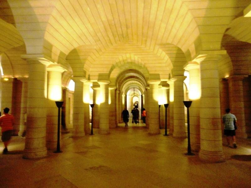 The underground crypt