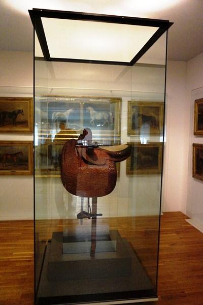 Empress Elisabeth's only surviving saddle