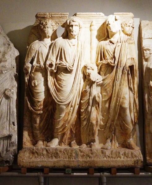 Hadrian and Antoninus Pius adopt Marcus Aurelius and Lucius Verus