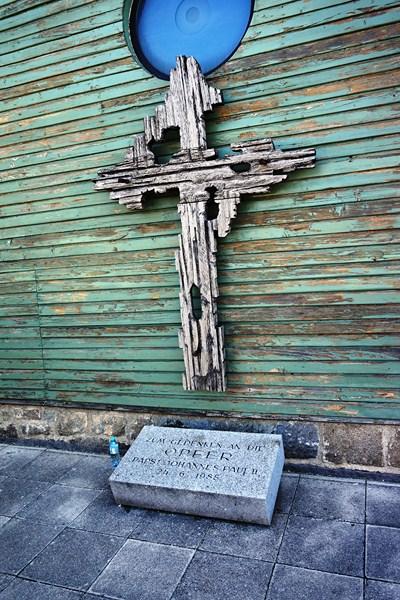 John Paul II Visit Memorial