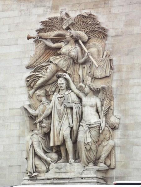 Le Triomphe de 1810 byJean-Pierre Cortot