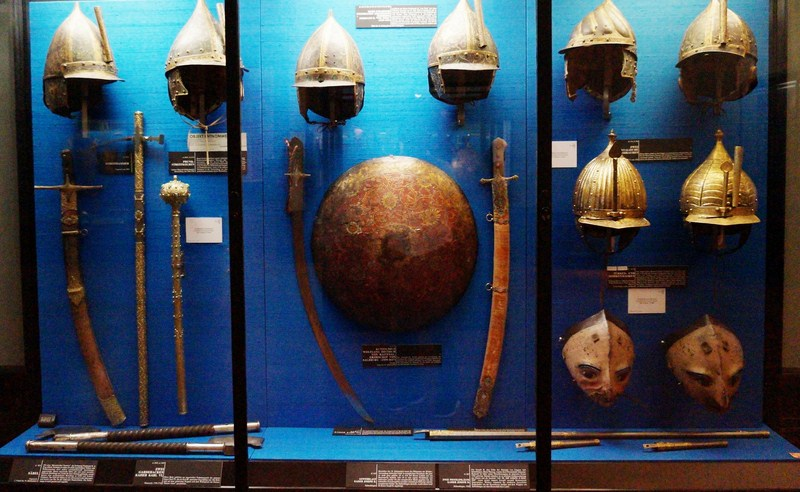 Middle East and Near Orient swords and helmets