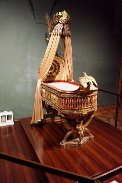 Napoleon II's golden cradle